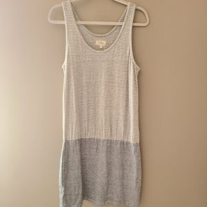 Lou & Grey Blouson Tank Dress, Size Medium